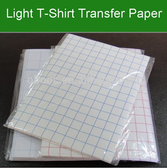 light color transfer paper